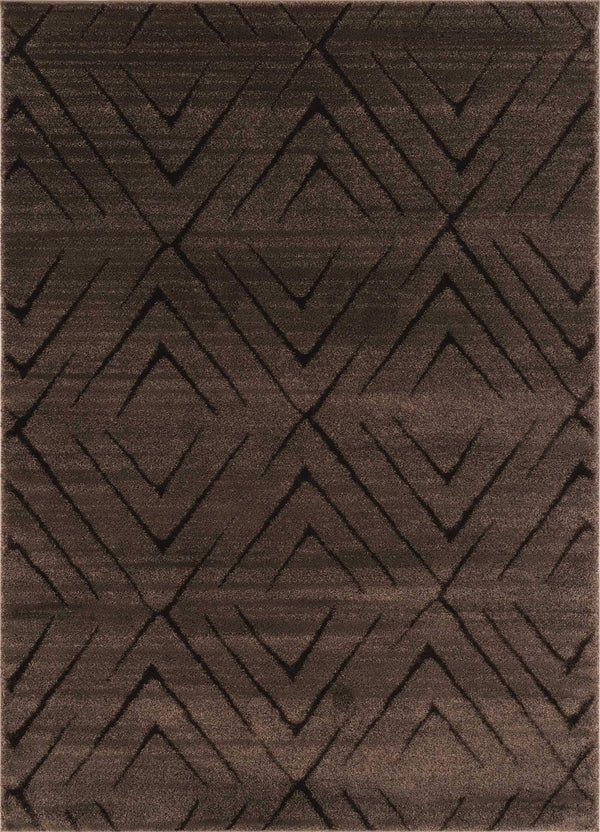 United Weavers Mystique Aisling 1955-02350 Brown Area Rug