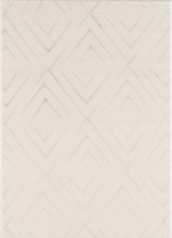 United Weavers Mystique Aisling 1955-02399 White Area Rug