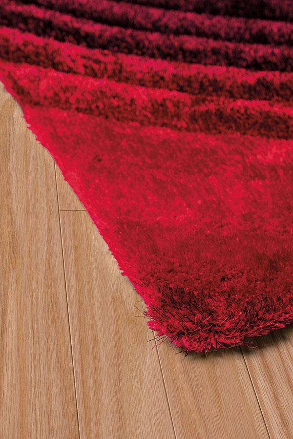 United Weavers Finesse Cyclic 2100-20838 Burnt Red Area Rug