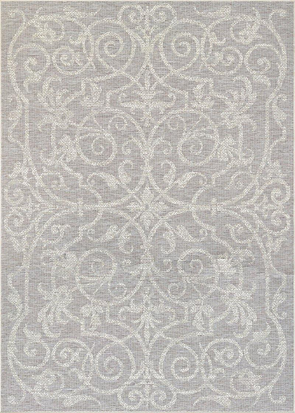 Couristan MONACO SUMMER QUAY 2106-3150 COCOA/NATURAL Area Rug