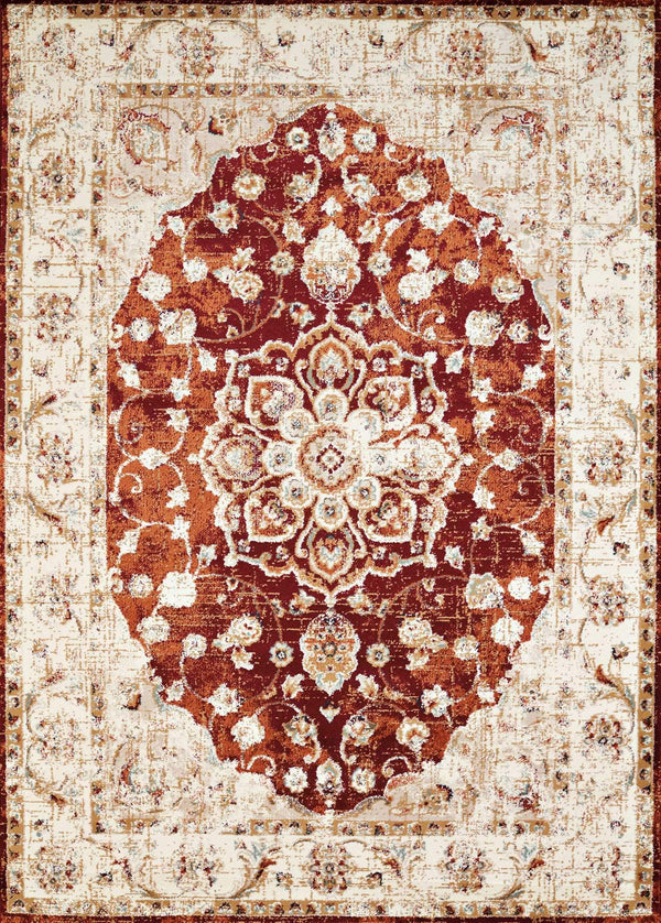 United Weavers Bridges Ponte Vecchio 3001-00436 Crimson Area Rug
