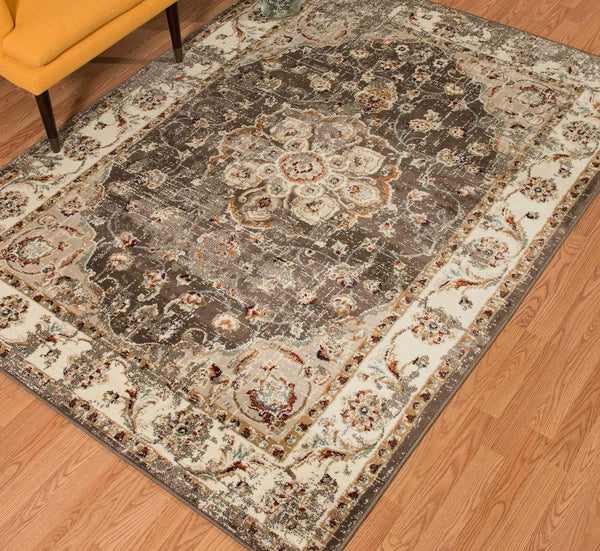 United Weavers Bridges Ponte Vecchio 3001-00494 Taupe Area Rug