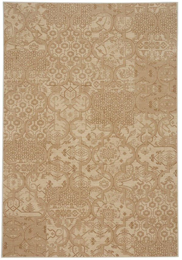 Capel Municipality-Sojourn 3418-622 Cream Area Rug