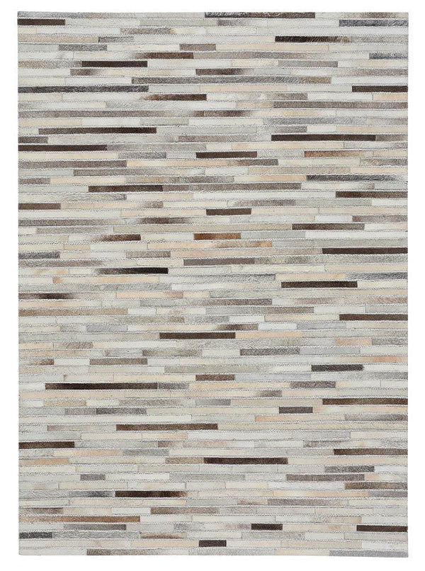 Capel Butte-Braided Stripe 3677-375 Ash Multi Area Rug