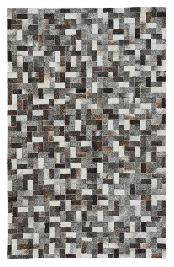 Capel Butte-Patchwork 3680-930 Multitones Area Rug