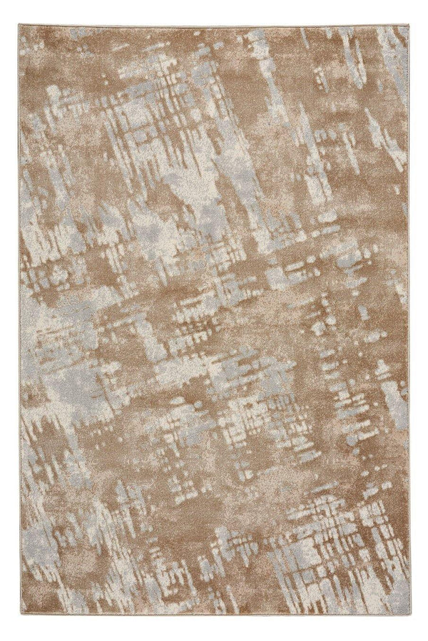 Capel Kevin O'Brien Sketch 3710-735 Tan Lt. Blue Area Rug