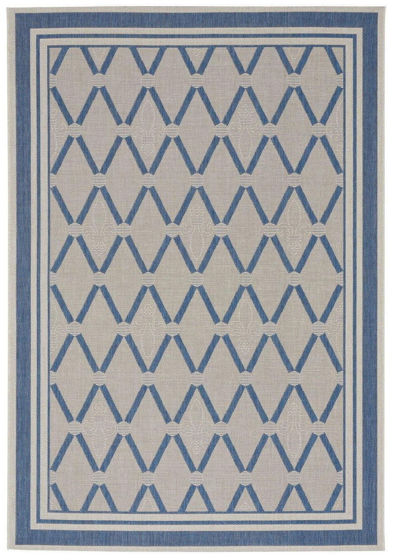 Capel Biltmore Elsinore-Lattice 4698-440 Blueberry Area Rug