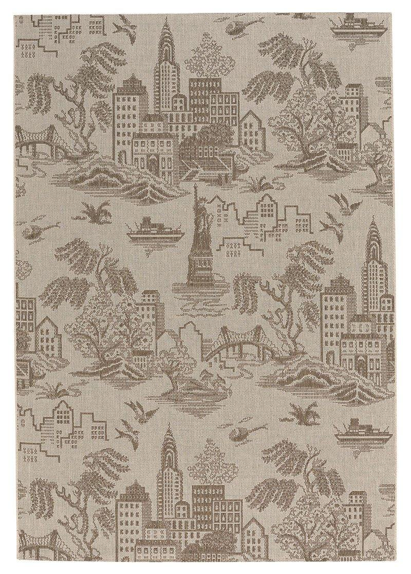 Capel Genevieve Gorder Elsinore-NY Toile 4723-675 Wheat Area Rug