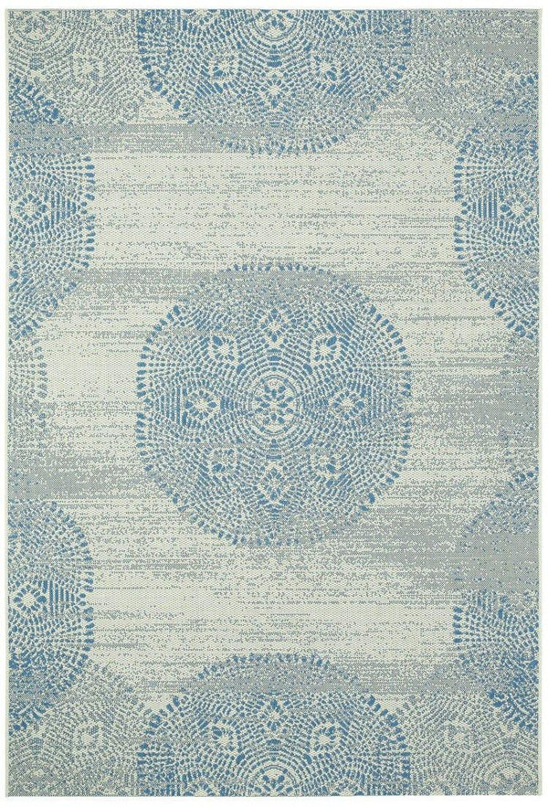 Capel Genevieve Gorder Elsinore-Mandala 4732-440 Blueberry Area Rug