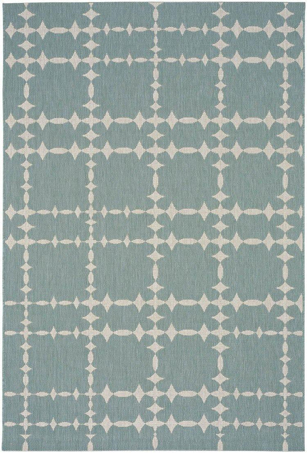 Capel COCOCOZY Elsinore-Tower Court 4738-420 Blue Area Rug