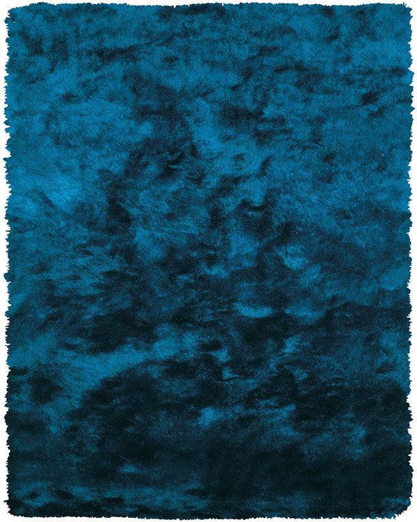 Feizy Indochine 4550F Teal Area Rug - The Rug Store