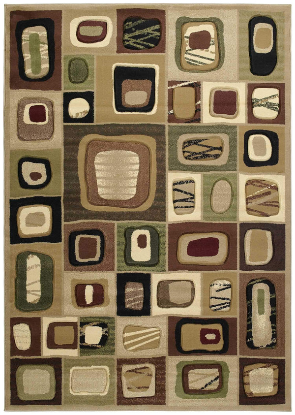 United Weavers Contours Marrakesh 510-23359 Toffee Area Rug