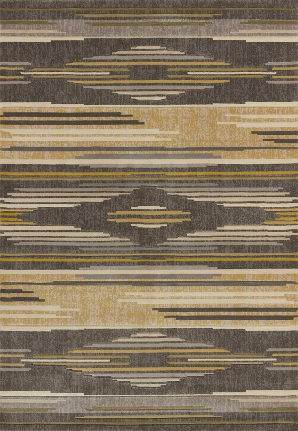 United Weavers Contours Native Chic 702-28672 Grey Area Rug