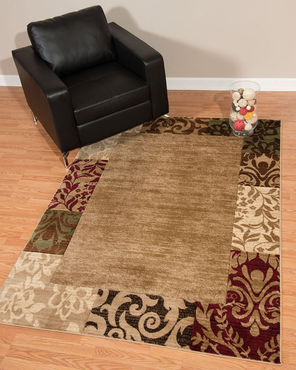 United Weavers Studio Valence 710-00126 Beige Area Rug
