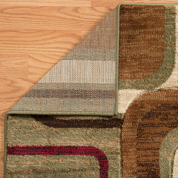 United Weavers Studio Modem 710-00350 Brown Area Rug