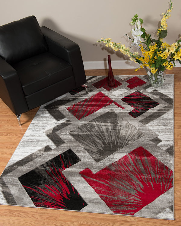 United Weavers Studio Flash 710-00631 Scarlet Area Rug