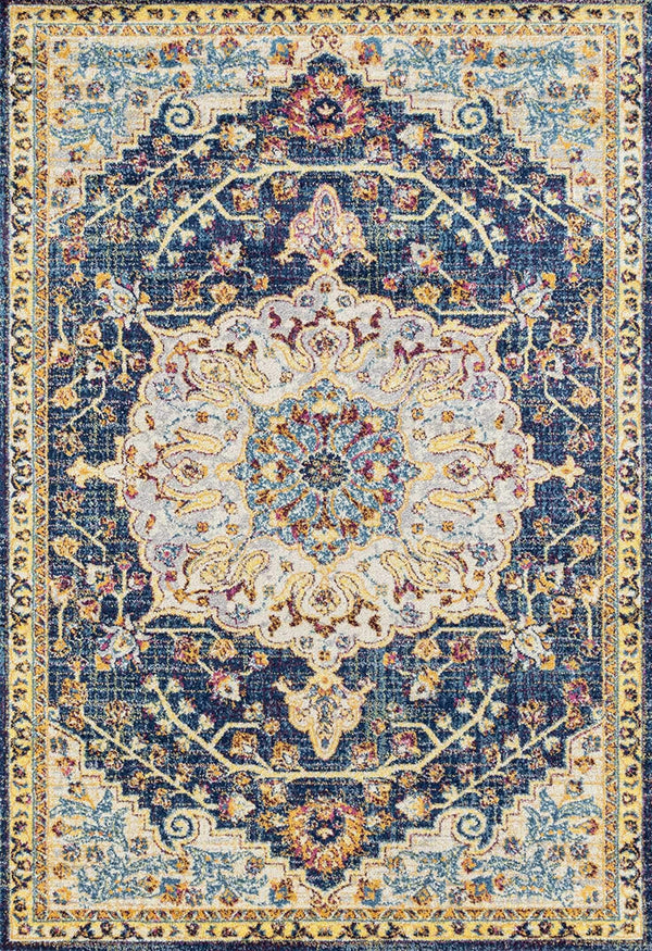 United Weavers Abigail Aviana 713-20160 Blue Area Rug
