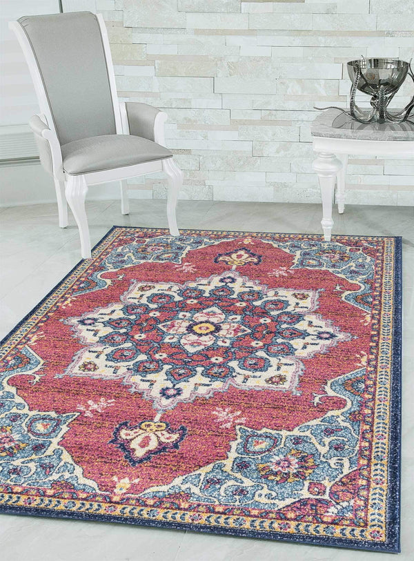 United Weavers Abigail Valentina 713-20768 Midnight Blue Area Rug