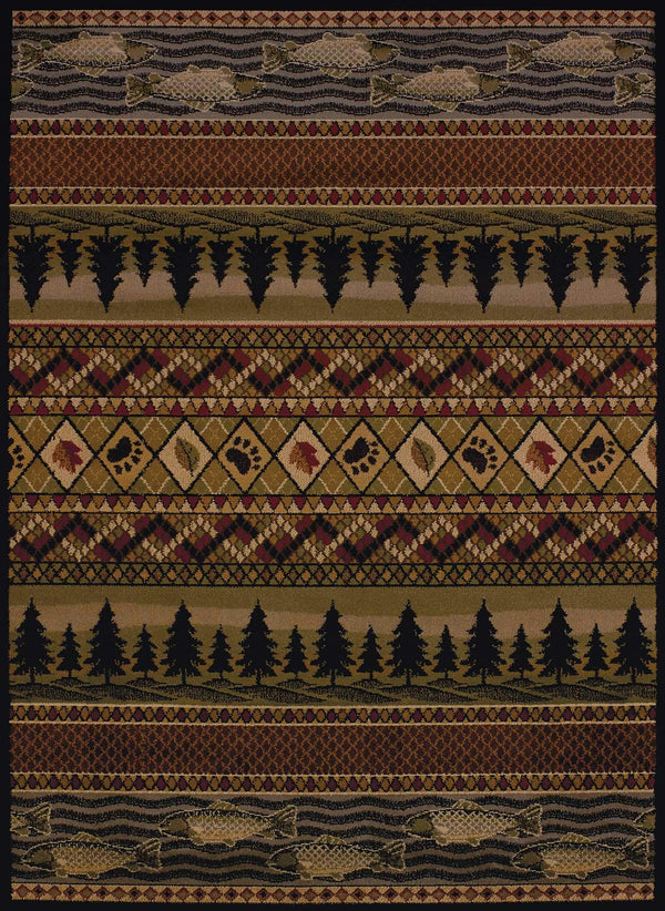 United Weavers Affinity River Ridge 750-03943 Lodge Area Rug