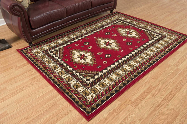 United Weavers Dallas Tres 851-10230 Red Area Rug