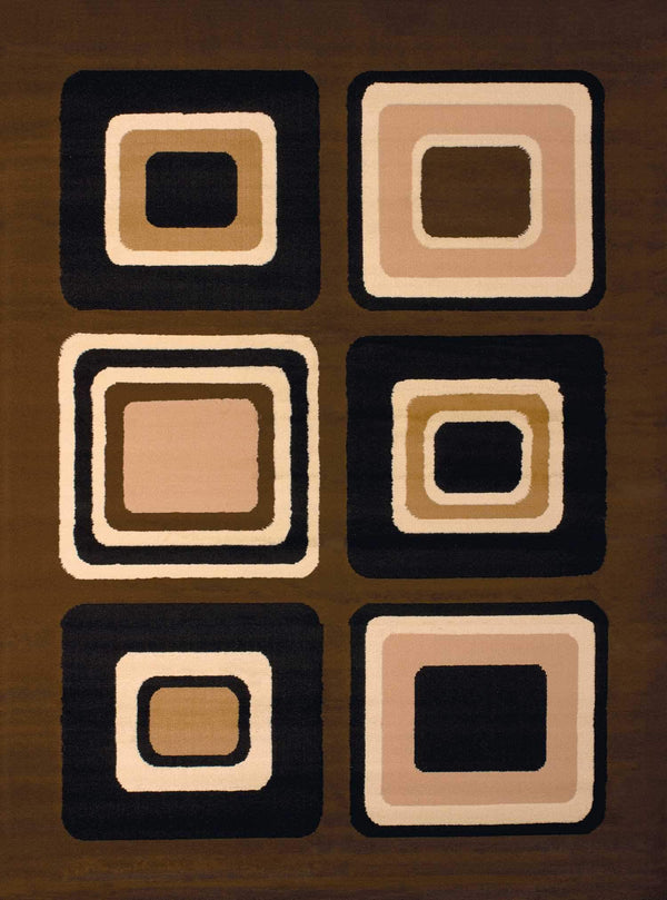 United Weavers Dallas Spaces 851-10350 Brown Area Rug