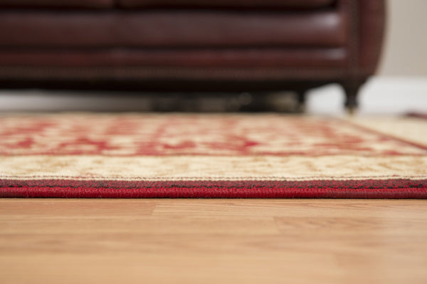 United Weavers Dallas Baroness 851-10630 Red Area Rug