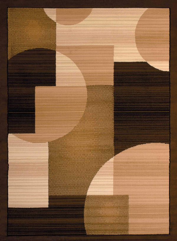 United Weavers Dallas Zoom Zoom 851-11150 Brown Area Rug