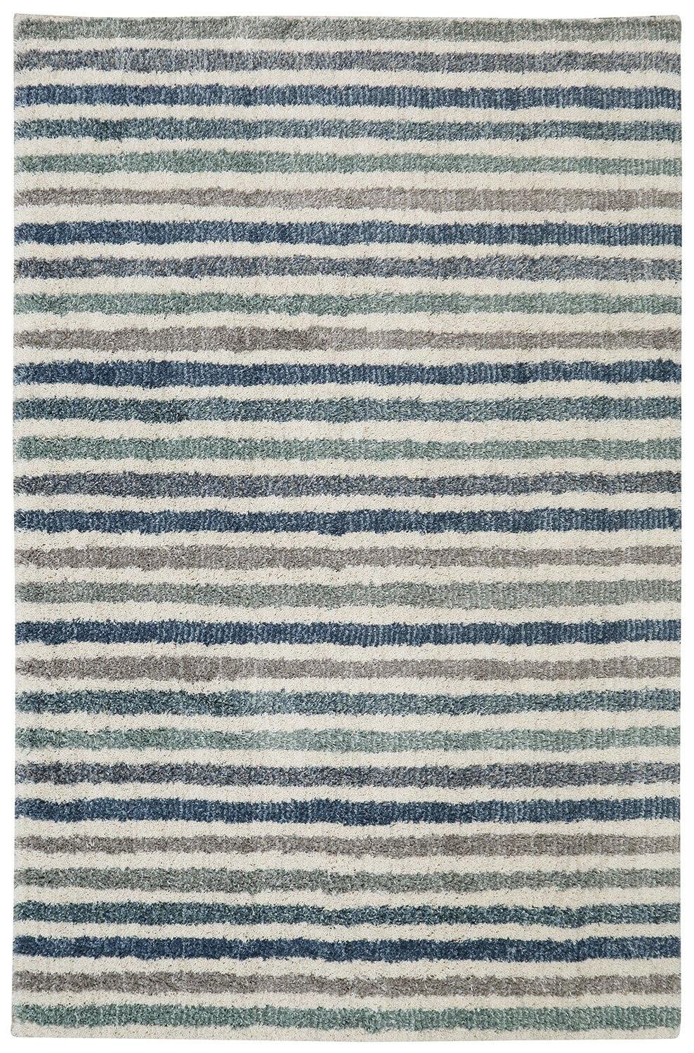 Mohawk Laguna Boardwalk Stripe Blue 90686-50101 Area Rug