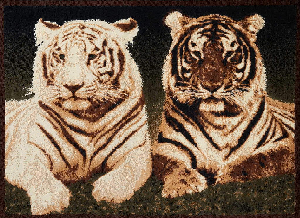 United Weavers Legends Tiger Colors 910-01650 Multi Area Rug