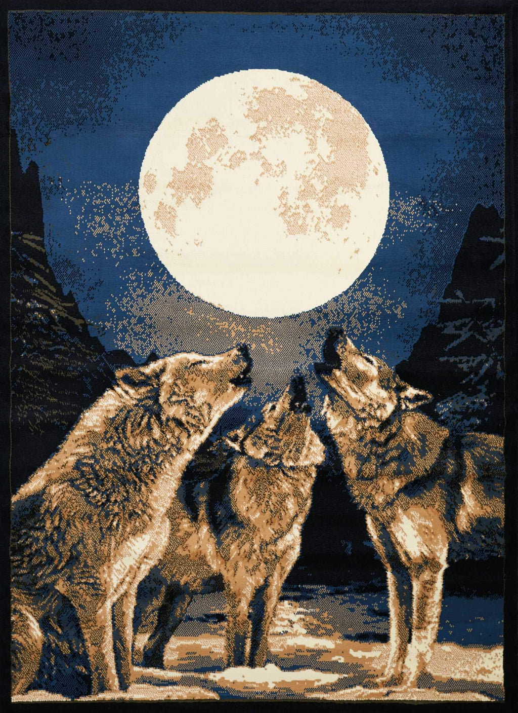 United Weavers Legends Howling Moon 910-02660 Multi Area Rug