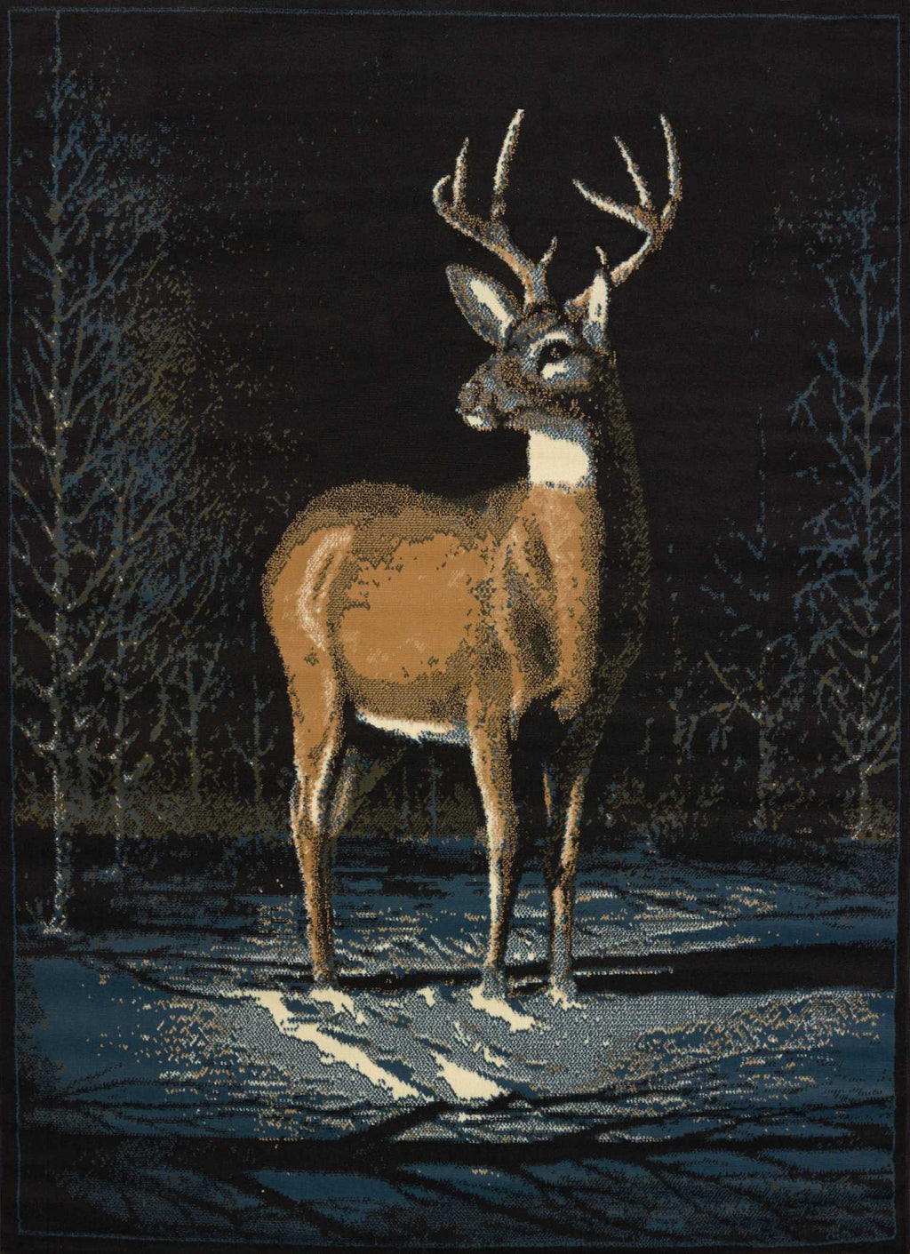United Weavers Legends Winter Buck 910-03060 Multi Area Rug