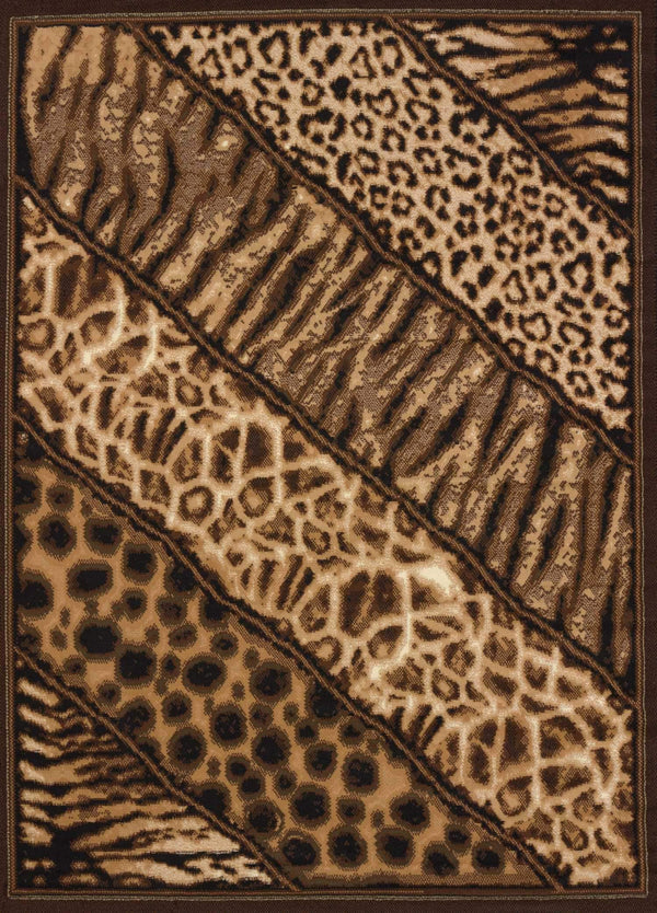 United Weavers Legends Slanted Safari 910-03150 Multi Area Rug