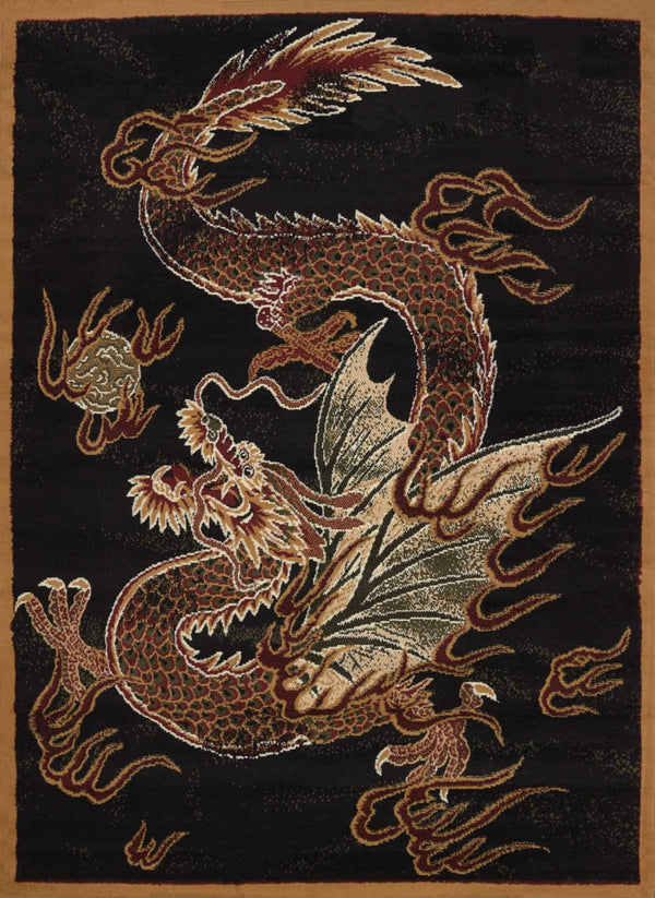 United Weavers Legends Dragon Luck 910-03230 Multi Area Rug