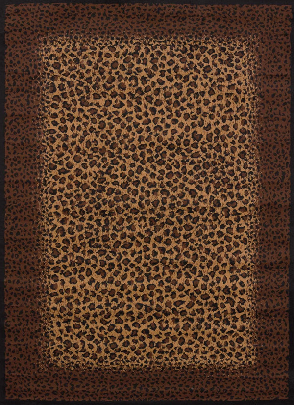 United Weavers Legends Leopard Skin 910-04050 Multi Area Rug
