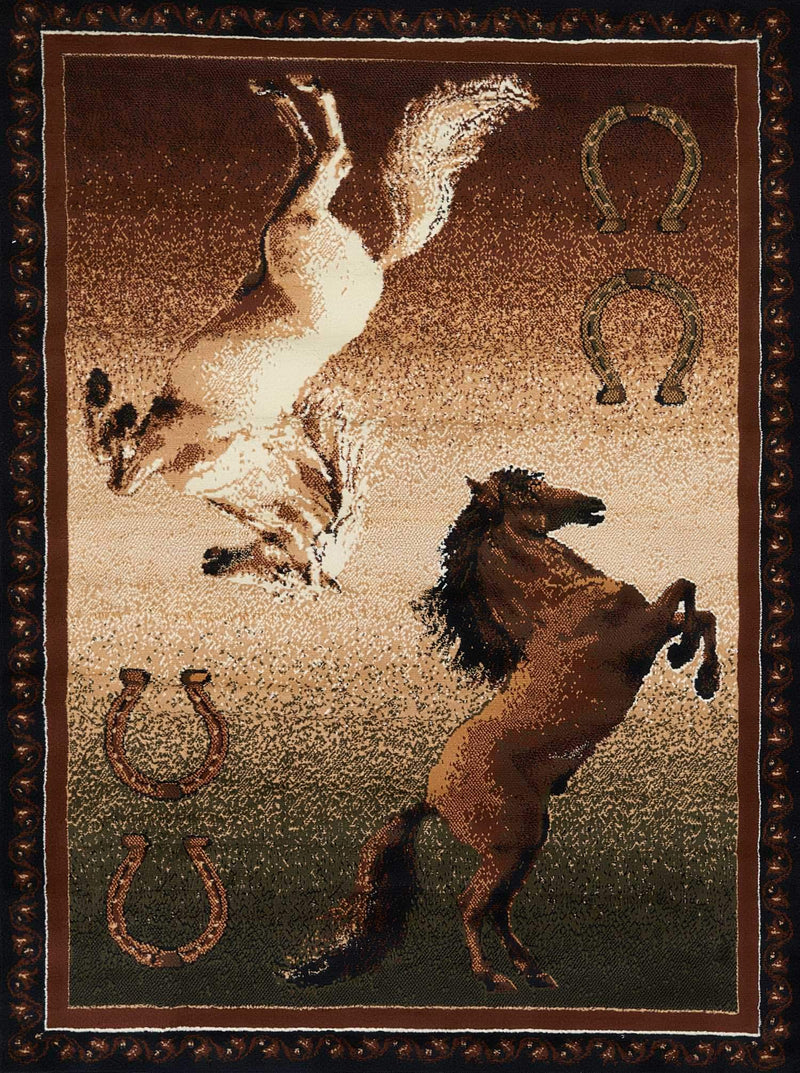 United Weavers Legends Ponies 910-05850 Multi Area Rug