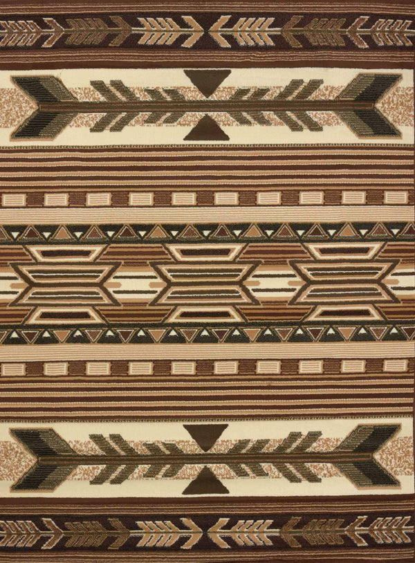 United Weavers Legends Broken Arrow 910-06750 Multi Area Rug