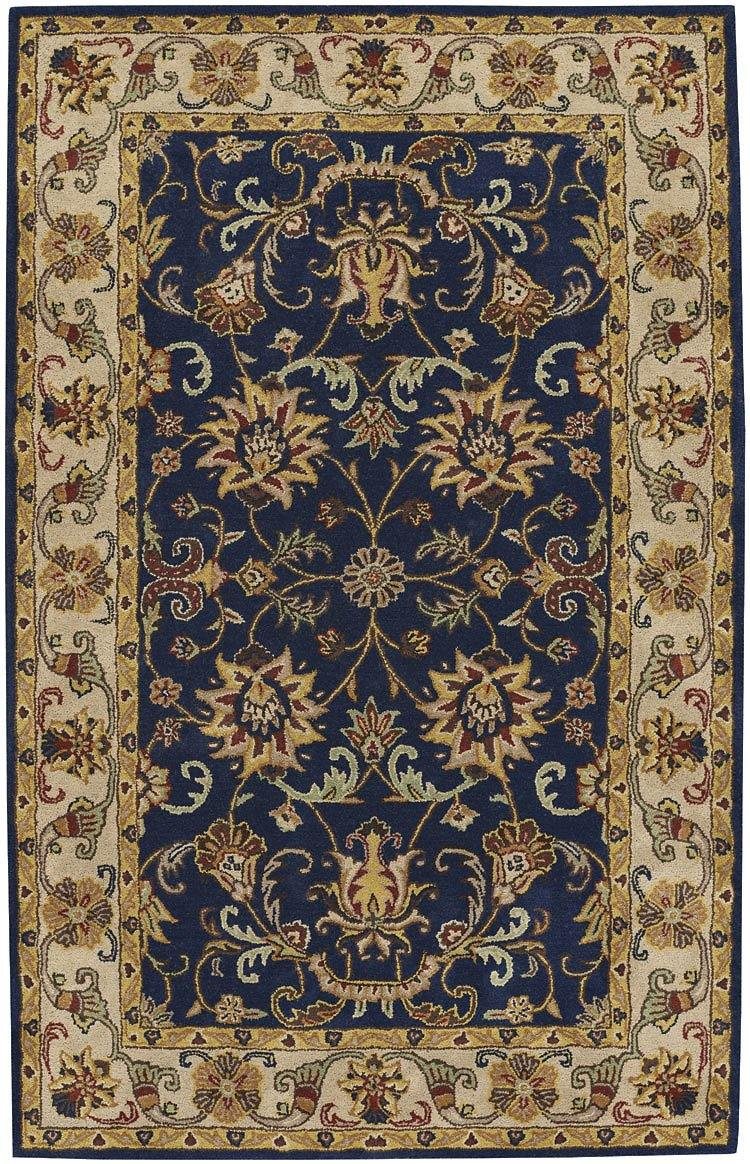 Capel Guilded 9205-475 Dk. Blue Area Rug