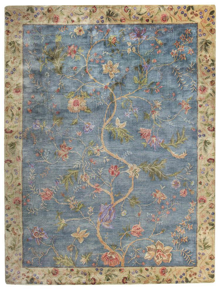 Capel Garden Farms #3 9249-425 Blue Area Rug