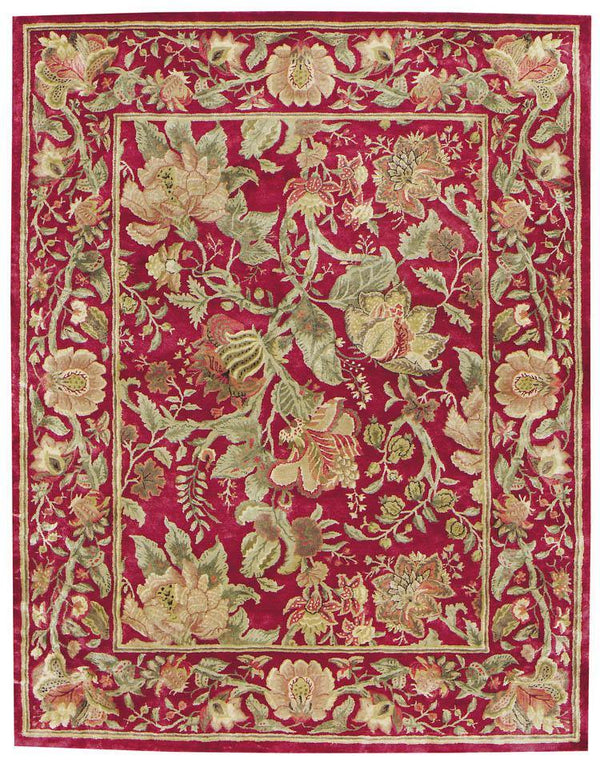 Capel Garden Farms 9250-550 Red Area Rug