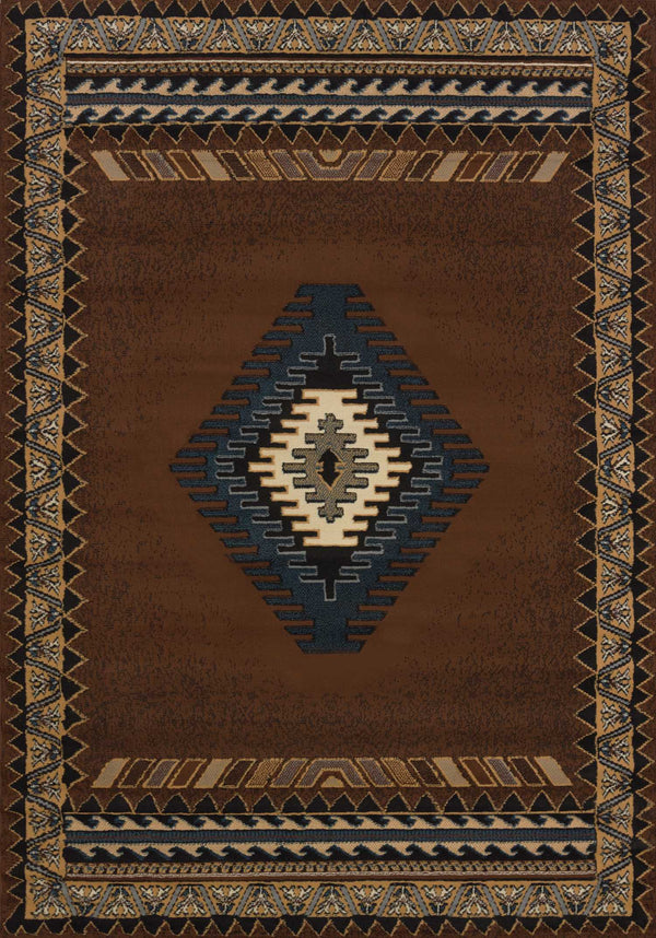 United Weavers Manhattan Tucson 940-27050 Brown Area Rug