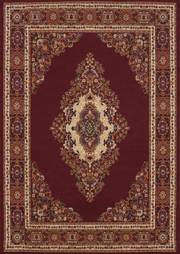 United Weavers Manhattan Cathedral 940-35334 Burgundy Area Rug