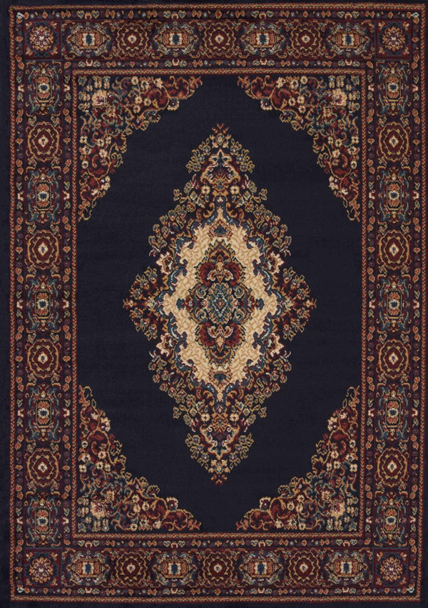 United Weavers Manhattan Cathedral 940-35364 Navy Area Rug