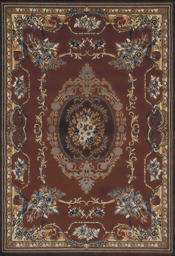United Weavers Manhattan Lexington 940-38150 Brown Area Rug