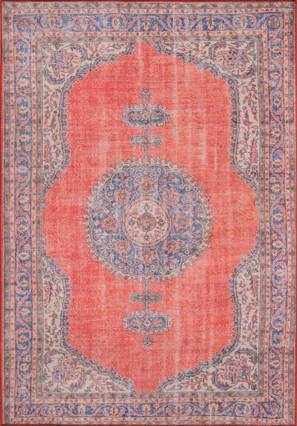 Momeni Afshar AFS12 Red Area Rug
