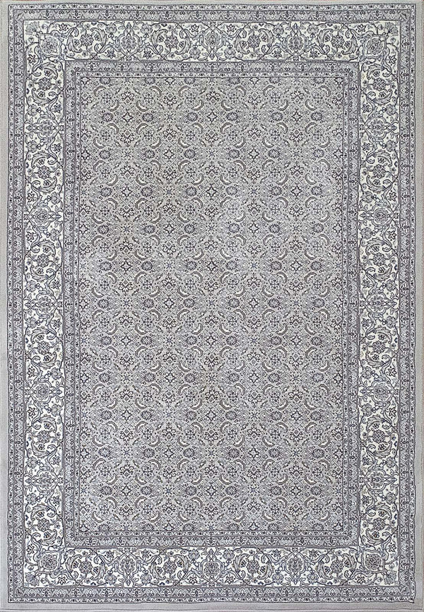 Dynamic ANCIENT GARDEN SOFT GREY-CREAM 57011-9666 Area Rug