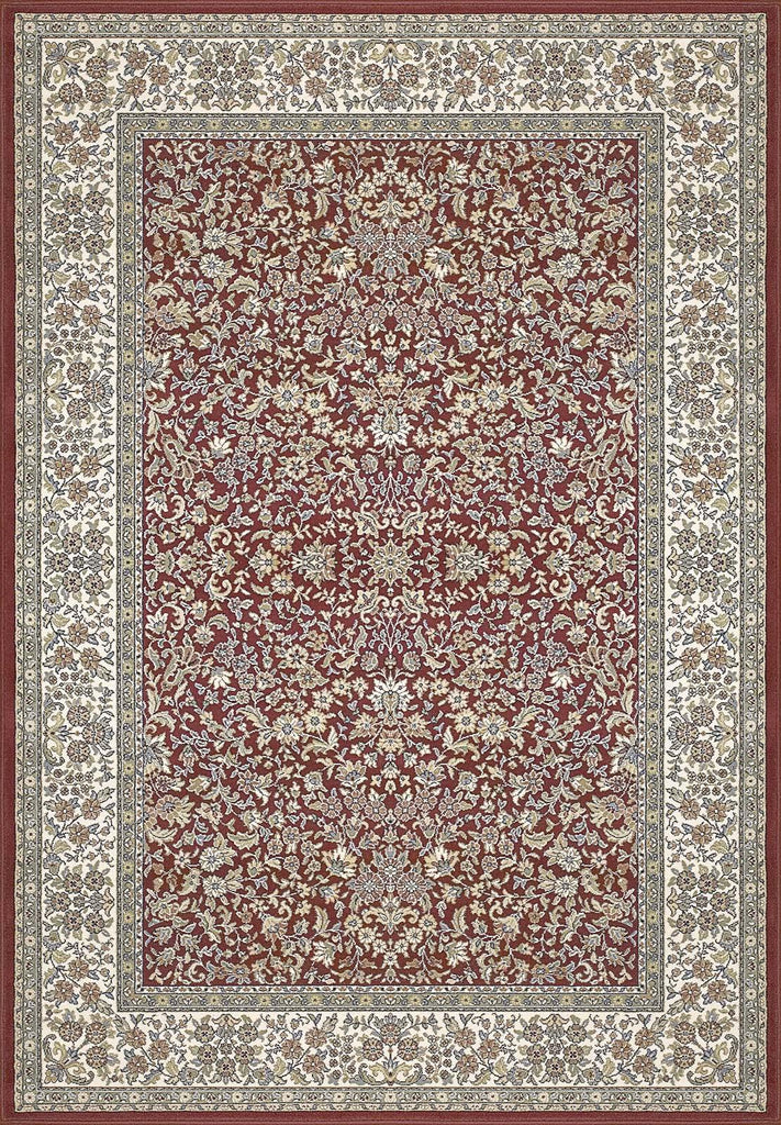 Dynamic Rugs ANCIENT GARDEN 57078 RED/IVORY 1414 Area Rug - rug store usa