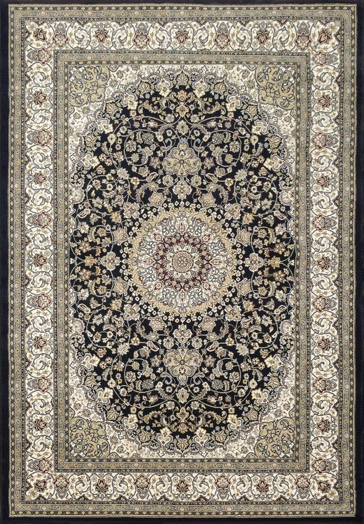 Dynamic Rugs ANCIENT GARDEN 57119 BLUE/IVORY 3434 Area Rug - rug store usa