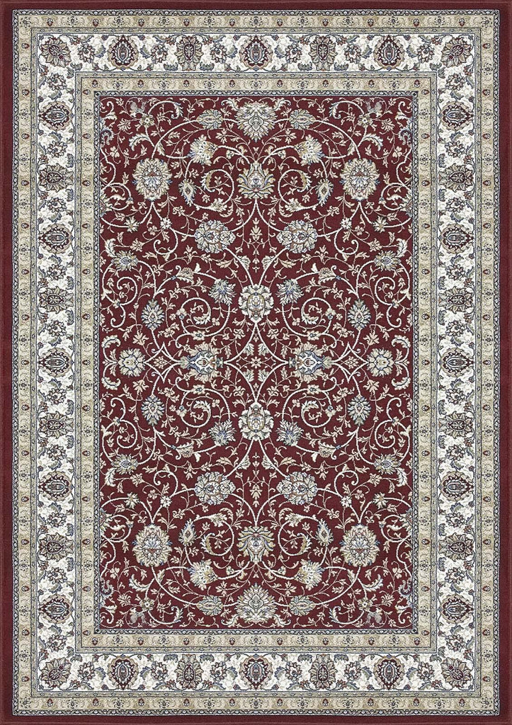 Dynamic Rugs ANCIENT GARDEN 57120 RED/IVORY 1464 Area Rug - rug store usa