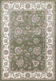 Dynamic Rugs ANCIENT GARDEN 57365 GREEN/IVORY 4464 Area Rug - rug store usa
