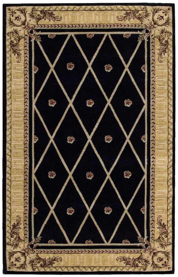 Nourison ASHTON HOUSE AS03 BLACK Area Rug